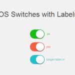 Переключатель в стиле iOS на CSS