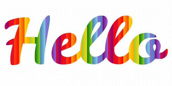 SVG градиенты для текста