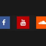 Cоциальные кнопки на чистом CSS