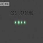 Анимационная загрузка с помощью CSS