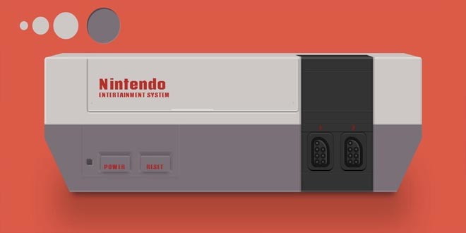 Nintendo на чистом CSS