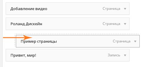 Создание выпадающего меню в WordPress